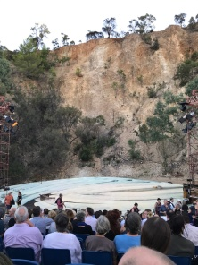 Adelaide Festival's Secret River is the type of theatre that changes you. Breathtaking location in an old quarry.