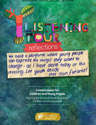 Listening tour cover