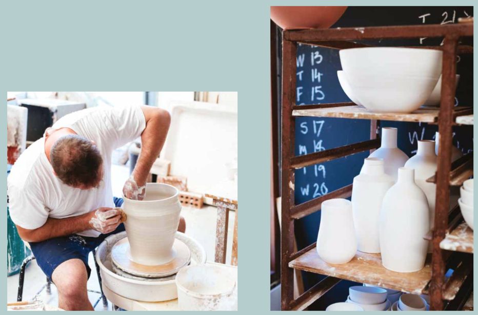 Ceramicist Guy Ringwood has a Zen approach to his art
